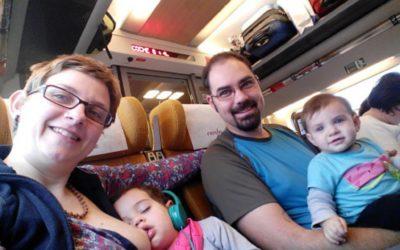 Lactancia Materna, Alimentación Autodirigida y Porteo – Nuestra combinación para viajar