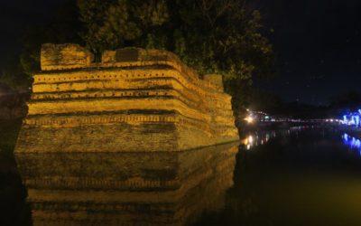 Al anochecer en Chiang Mai