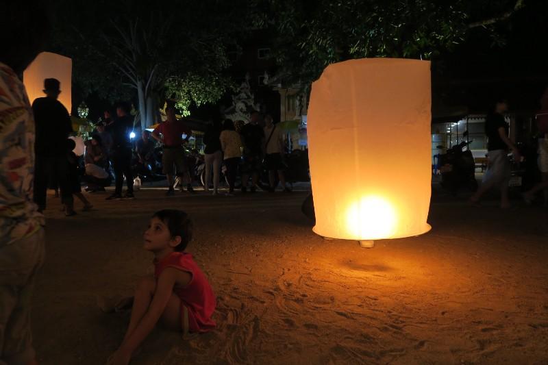 Yee Peng – FESTIVAL DE LAS LINTERNAS de Chiang Mai