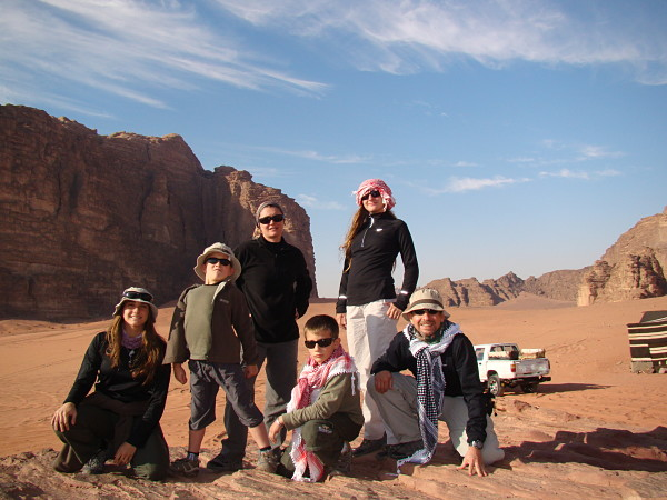 Un día cualquiera por el mundo con 6G Familia Viajera Giusiano